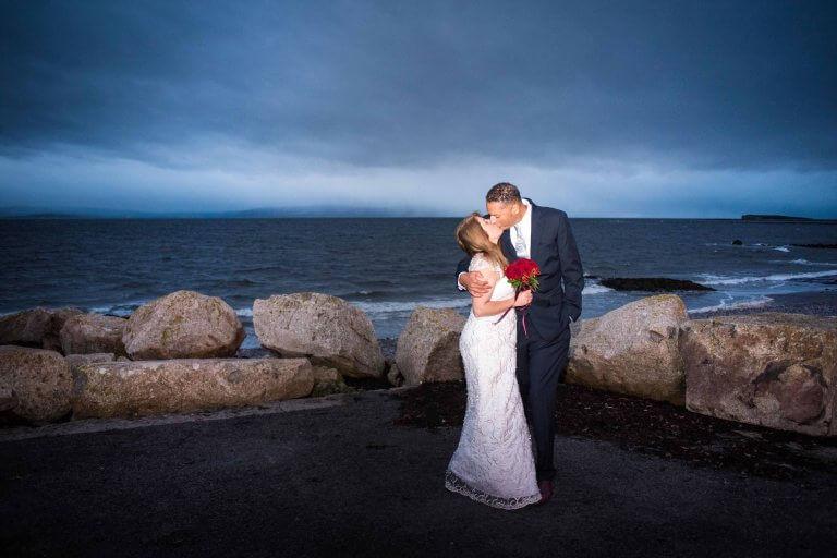"""Kristin & JJ""""s Romantic Elopement in Galway, Ireland"""