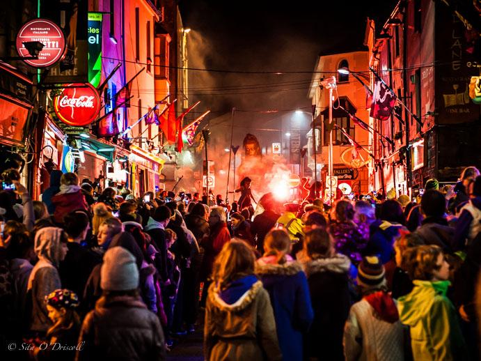 A Look Back at Macnas Halloween Parade